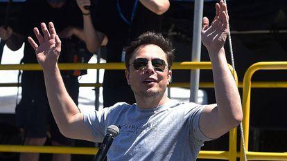 Elon Musk el pasado mes de julio en California.