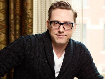 Devlin Elliot, escritor, productor teatral neoyorquino y ganador del certamen Museo de la Palabra.