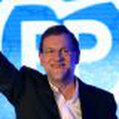 Spain's Prime Minister Mariano Rajoy Meets Members Of The Popular Party