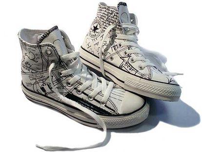 Zapatillas reeditadas de Kurt Cobain.