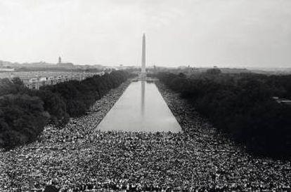 La multitudinaria Marcha por el Trabajo y la Igualdad convocada por Martin Luther King en Washington el 28 de agosto de 1963. La injusticia racial viene de lejos.