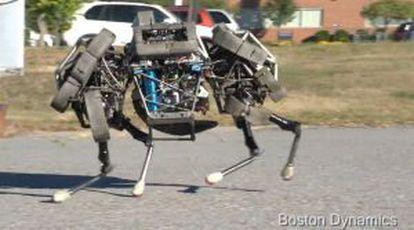 Robot militar fabricado por Boston Dynamics.