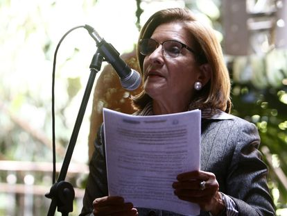 Margarita Cabello Blanco, elegida como procuradora general de Colombia, en una imagen de archivo.