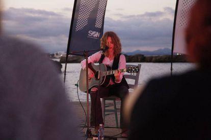 Una actuación de la pasada edición del festival Son Estrella Galicia Posidonia en Formentera.