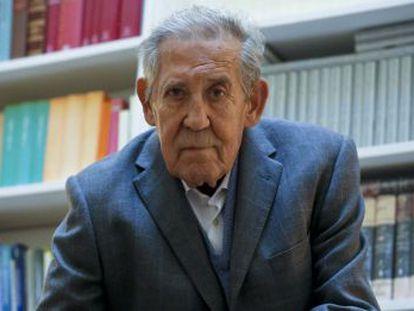 El expresidente del Consejo de Estado, Francisco Rubio Llorente.