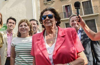 Desde la izquierda, Betoret, Bonig, Moliner, Barberá y Moragues, en 2015.