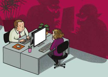 Fragmento de la portada de 'Troll Corporation'