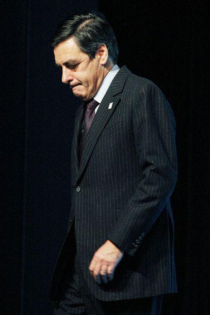 François Fillon, ayer en Annecy (este de Francia).