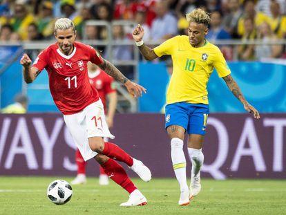 Brasil se enfrenta a Suiza en su primer partido del Mundial de Rusia 2018