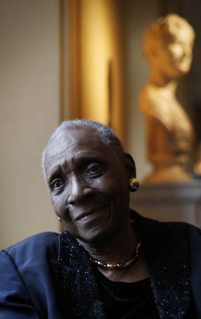 La escritora Maryse Condé, en una imagen de 2015.