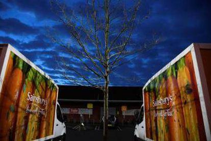Los supermercados Sainsbury's han reducido un 0,7% sus ventas en la campaña navideña.