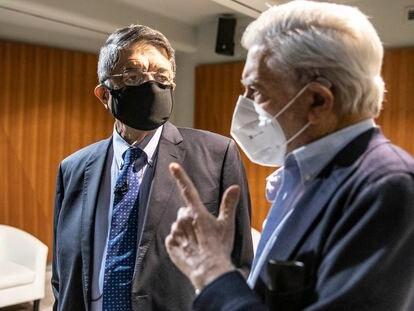 Sergio Ramírez y Mario Vargas Llosa participan en el diálogo 'Literatura y América latina', en la Casa América el lunes.