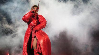 Lady Gaga, en agosto, durante una actuación en Los Ángeles.