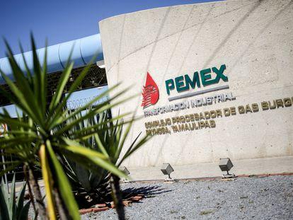 La refinería de Pemex en Reynosa, al norte de México.
