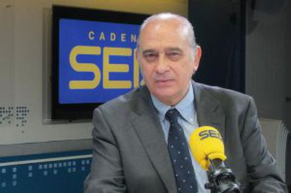 Jorge Fernández Díaz, en los estudios de 'Hoy por Hoy'.