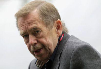 El expresidente checo Václav Havel, en una foto tomada en 2010