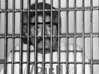 El narcotraficante mexicano Rafael Caro Quintero en prisión por el asesinato en 1985 del agente de la DEA de Estados Unidos, Enrique Camarena.
