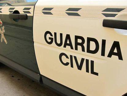 Imagen de archivo de un vehículo de la Guardia Civil. En vídeo, imágenes de la zona donde sucedieron los hechos.