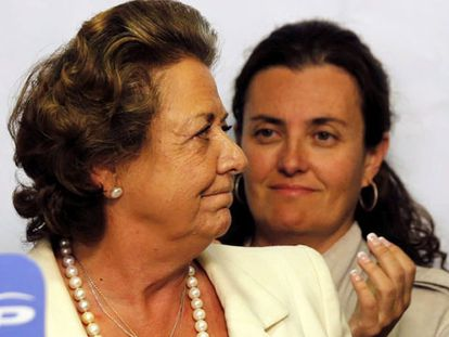 "Rita Barberá: ""¡Qué hostia... qué hostia!"""