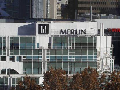 Oficinas de Merlin Properties en Madrid.