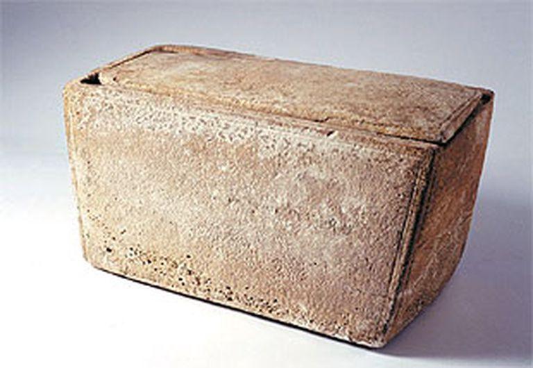 Imagen de la caja fúnebre.