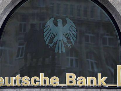 Oficina del Deutsche Bank en Francfort (Alemania).