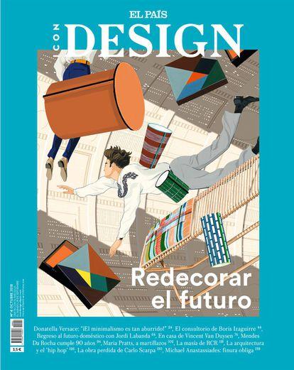 Portada de Jordi Labanda para este número de ICON DESIGN.