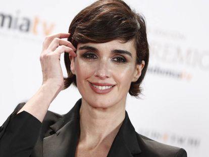 La actriz Paz Vega el mes pasado en Madrid.