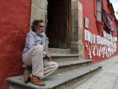 El artista Francisco Toledo.