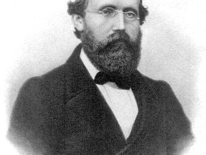 Una imagen de Bernhard Riemann tomada en 1863.