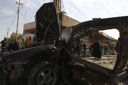 Atentado con coche bomba en un barrio chií de Bagdad.