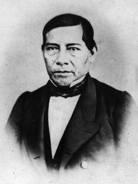 Benito Juárez, in an archive image from 1860.