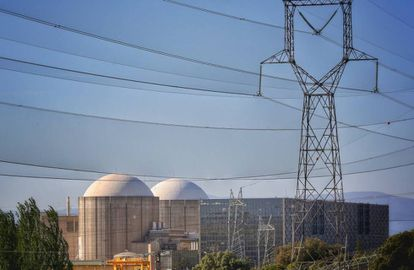 Central nuclear de Almaráz, en Cáceres.