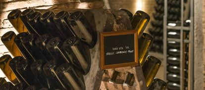 Crianza del cava que Codorníu sacará a la venta por más de 150 euros la botella.