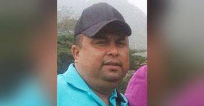 El periodista asesinado Pedro Tamayo Rosas.
