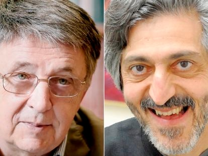 Lázló Lovász y Avi Wigderson, galardondos con el Premio Abel 2021.