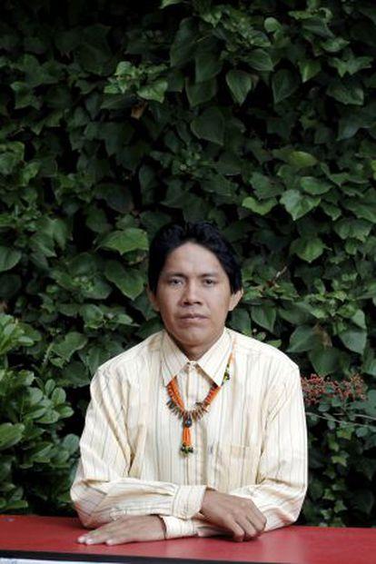 Mario Niacio, presidente del Conselho Indigena de Roraima de Brasil.