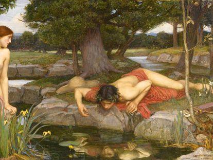 'Eco y Narciso', de John William Waterhouse