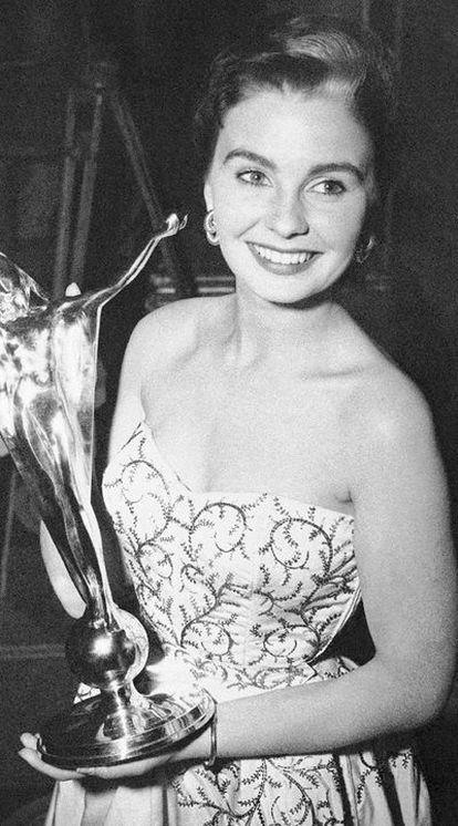 Jean Simmons, en una fotografía de archivo.