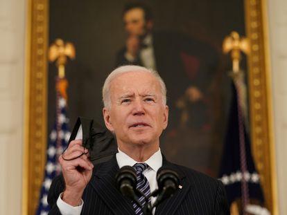 El presidente Joe Biden, este martes en Washington.