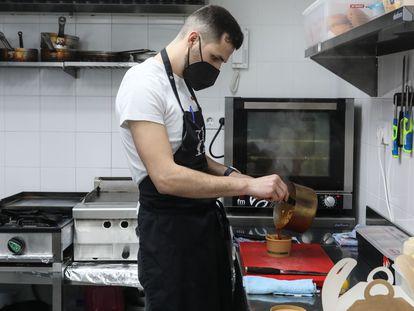Dvd 1040  9/2/21Espacios donde distintas marcas de comida a domicilio realizan sus pedidos. En la imagen, la firma Food Craft.KIKE PARA.