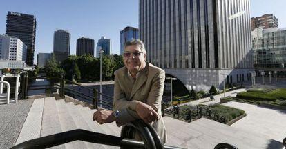 Manuel Rodríguez Peralta, presidente de la asociación de comerciantes PRO-AZCA.