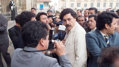 Javier Bardem en la piel de uno de los más grandes narcotraficantes, 'Loving Pablo' (2018).
