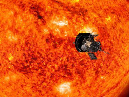 En vídeo, recreación de la 'Sonda Solar Parker' durante uno de sus acercamientos al Sol.