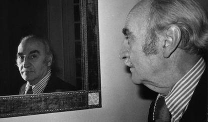 Francisco Ayala, en una imagen tomada entre 1969 y 1970.