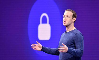 Mark Zuckerberg, el año pasado en California.