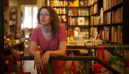 La escritora y 'tarotista' Jessa Crispin en Barcelona.