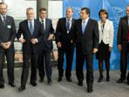 Los presidentes autonómicos en Bruselas.