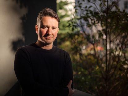 Gabriel Zucman, fotografiado en la Universidad de California, en Berkeley, el pasado día 5 de febrero.