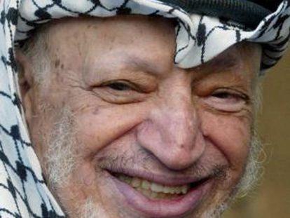 Arafat, en una imagen de noviembre de 2003.
